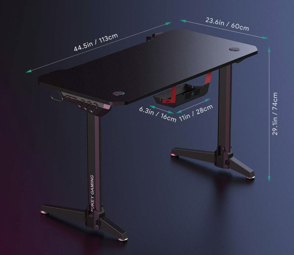 aukey-gaming-desk-dimensions