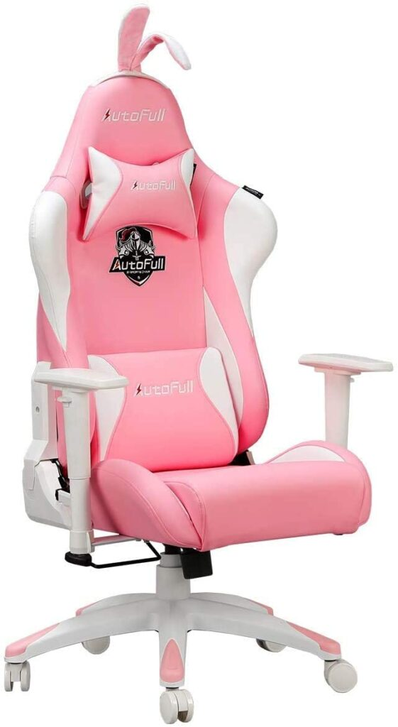 autofull-pink-gaming-chair-with-rabbit-ears