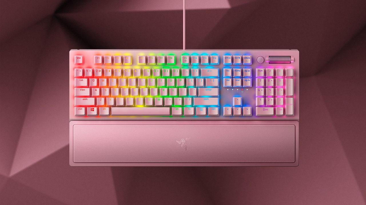 best-pink-gaming-keyboard